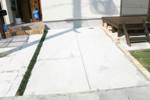 土間打ちコンクリート